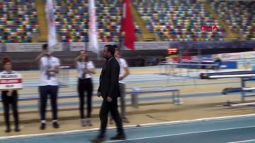 Spor atletizmde u18 ındoor match heyecanı başladı