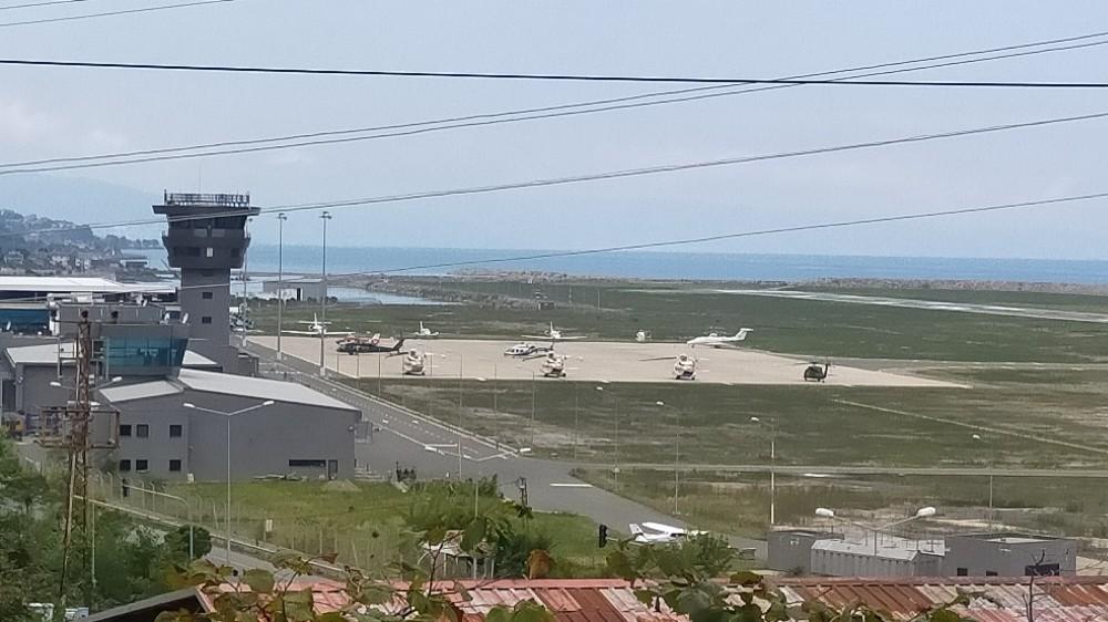 Cumhurbaşkanı Erdoğan Ordu-Giresun Havalimanı'na iniş yaptı