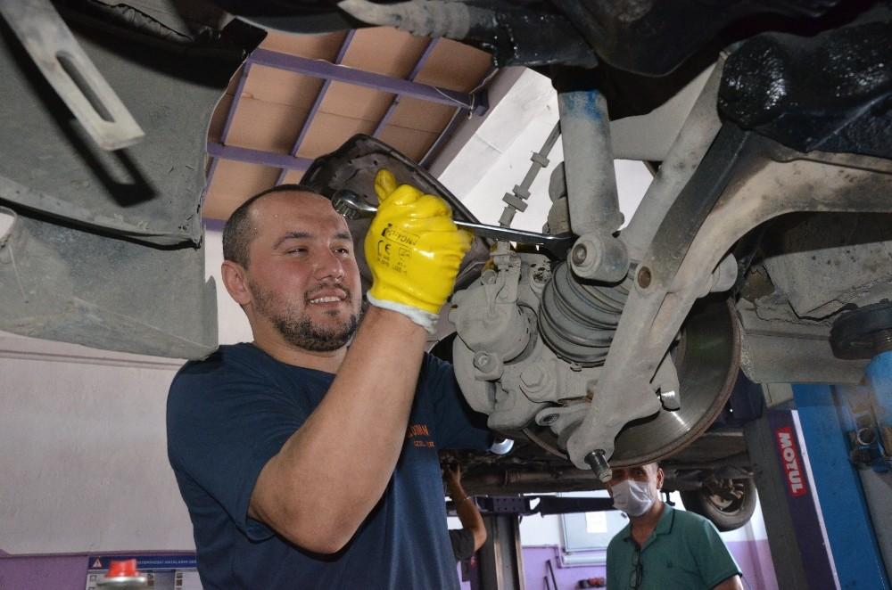 Farklı bölgelerden Karadeniz Bölgesi'ne gelen araçlarda 'fren' tehlikesi