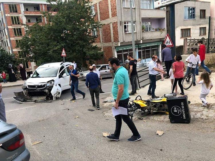 Korgan'da trafik kazası: 1 ölü