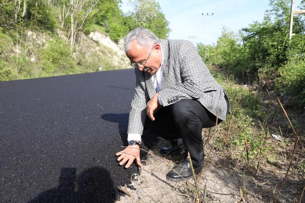 Ordu Büyükşehir Belediyesi kendi asfaltını üretiyor