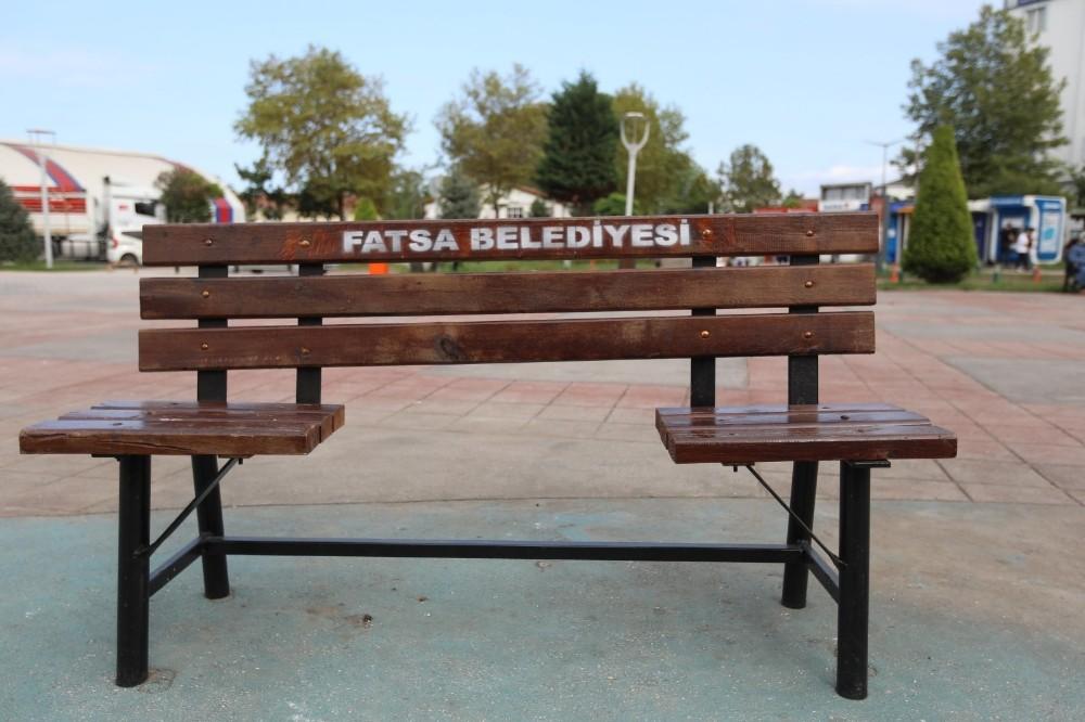 Fatsa Belediyesinden fiziksel mesafeli bank