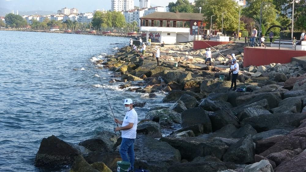 Fatsa'da balık avı yarışması