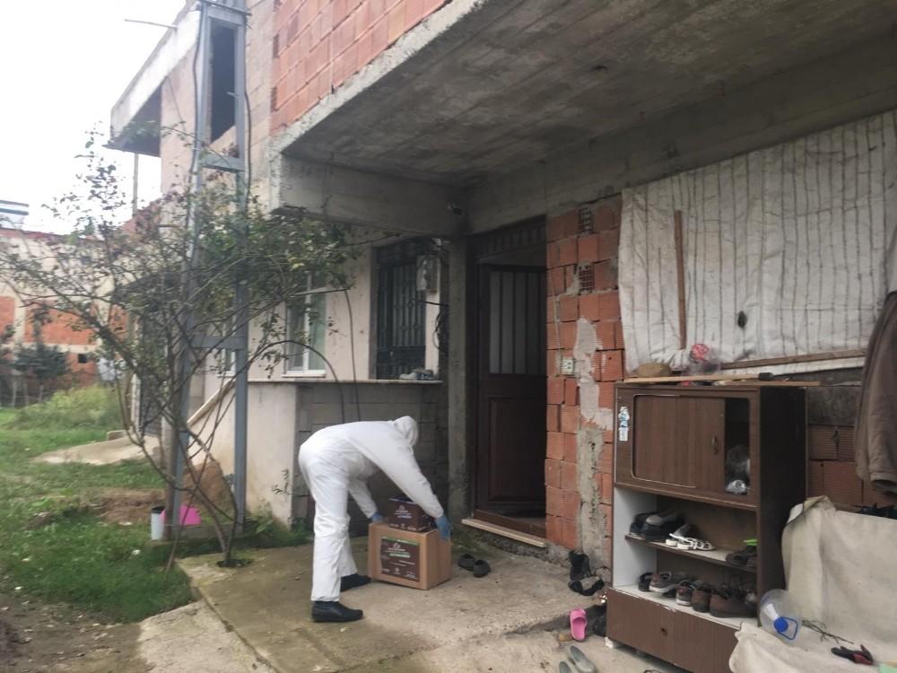 Altınordu Belediyesi testleri pozitif çıkan vatandaşları yalnız bırakmıyor
