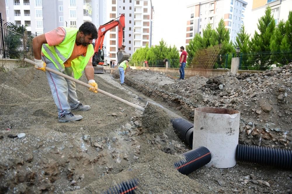 Altınordu'da alt yapı sorunları çözülüyor