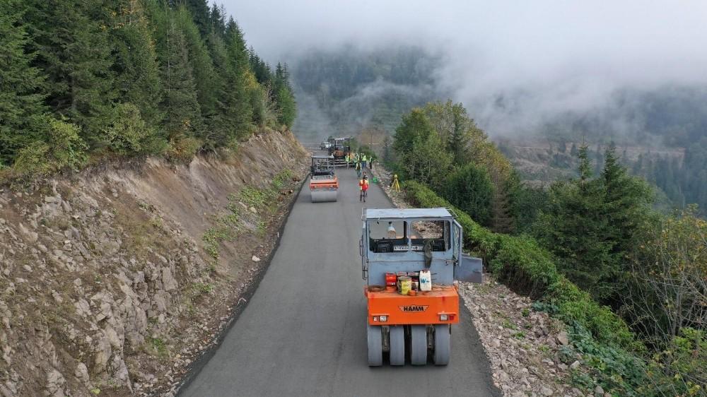 Ordu'da asfalttan uzun ömürlü yol