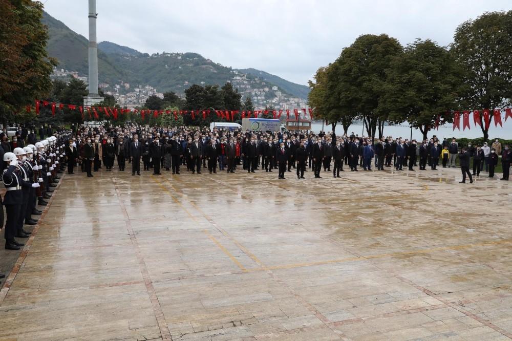 Ordu'da 10 Kasım töreni