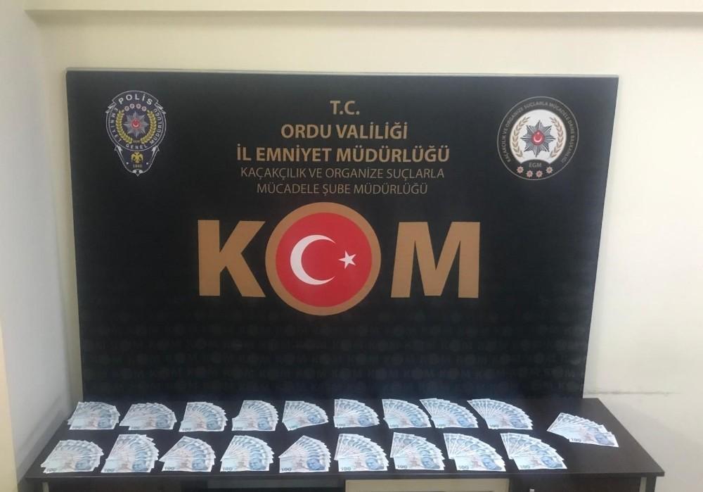 Ordu'da sahte para operasyonu: 3 tutuklama