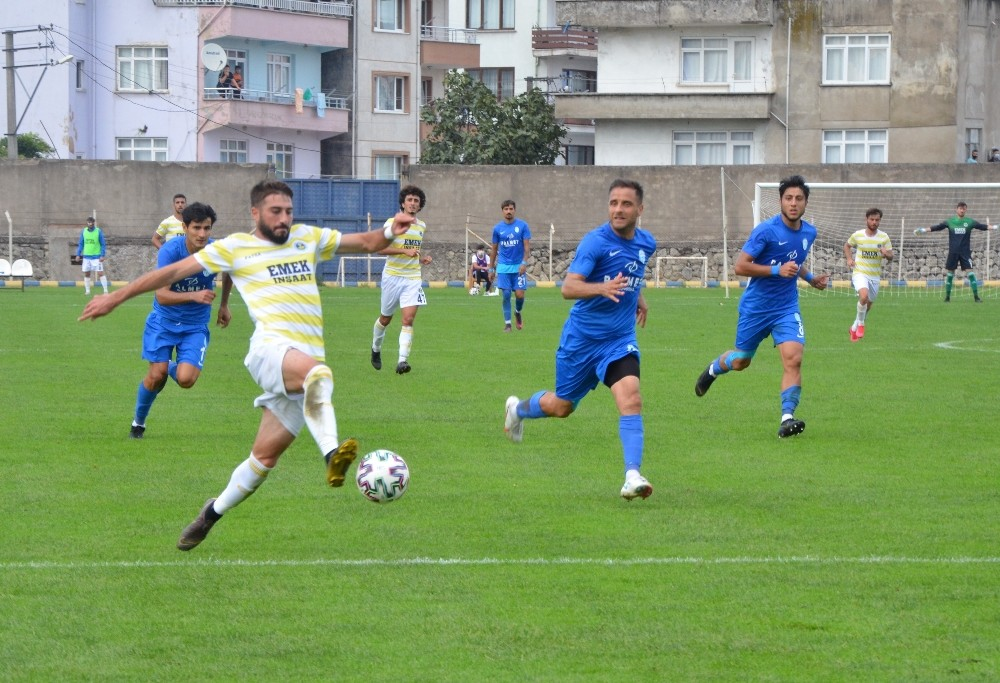 TFF 3. Lig: Fatsa Belediyespor: 0 – Kemerspor 2003: 0