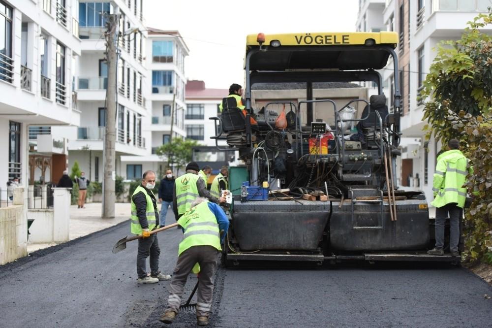 Altınordu Belediyesi altyapı seferberliğini sürdürüyor