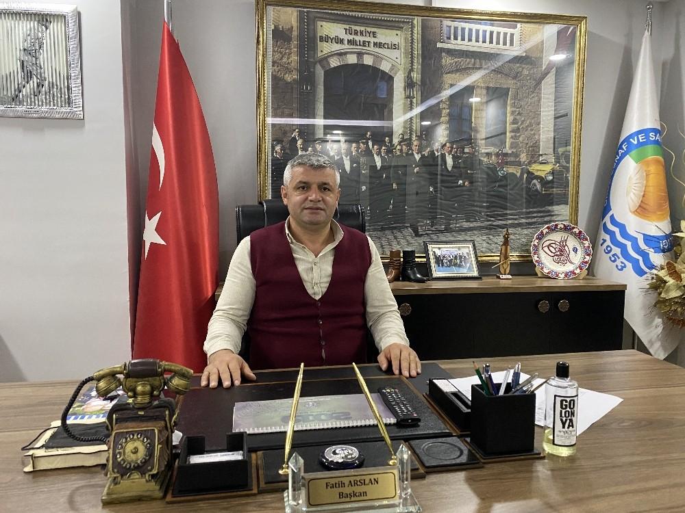 """Başkan Arslan'dan """"Yerel esnafa sahip çıkın"""" çağrısı"""