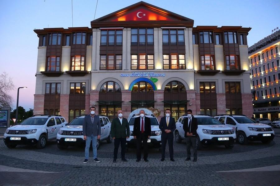 Ordu Büyükşehir Belediyesi'nden sağlık çalışanlarına anlamlı destek