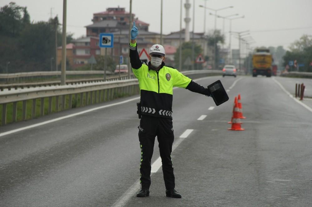Ordu'da trafiğe sıkı kontrol