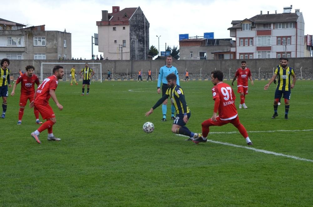 3. Lig: Fatsa Belediyespor: 0 – Nevşehir Belediyespor: 0