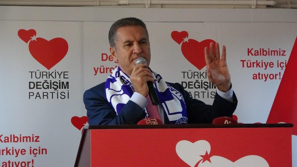 """Mustafa Sarıgül: """"Muhalefet partileri, bugüne kadar iktidara alternatif olamadılar"""""""