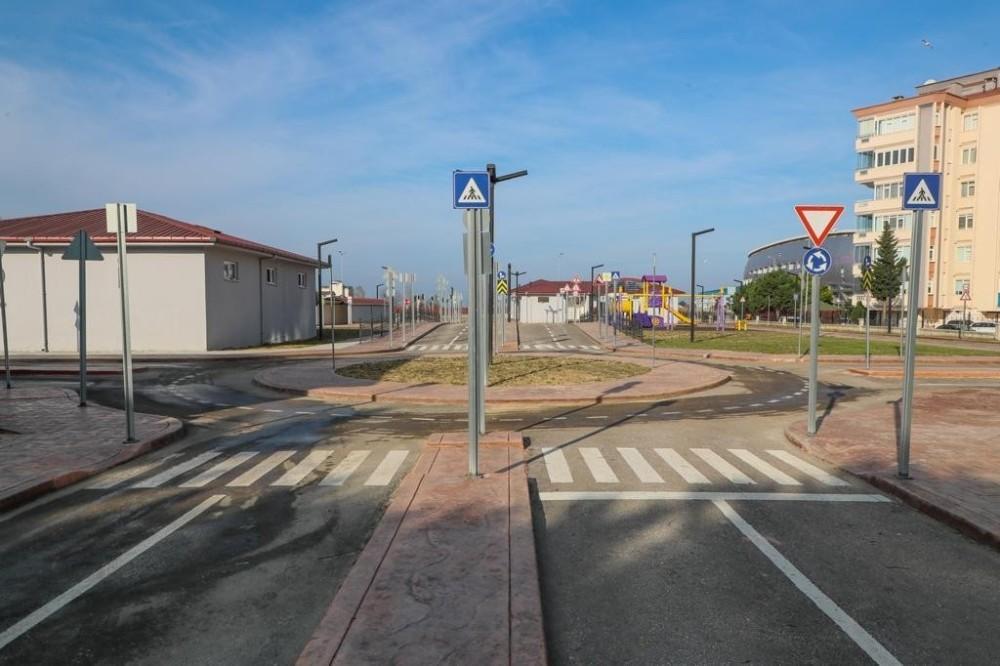 Ordu'da çocuklar için trafik eğitim parkı