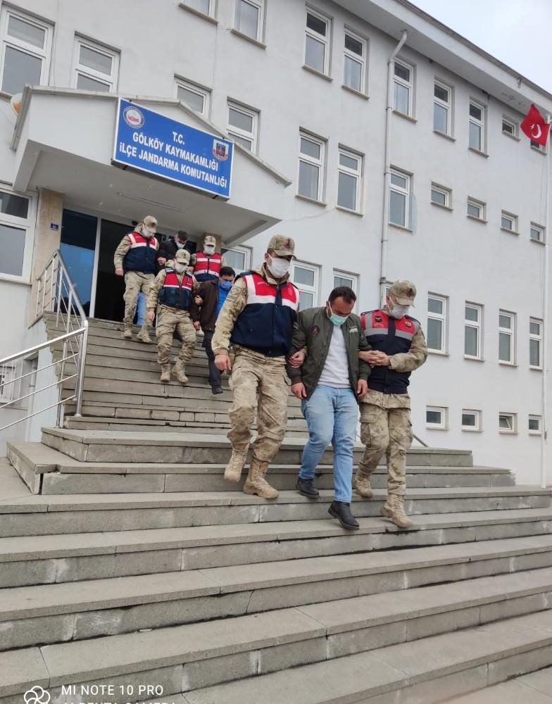 Ordu'da telefon kablosu hırsızlığı: 2 tutuklama