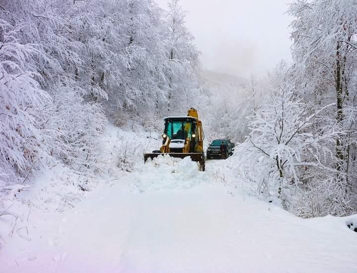 Ordu'nun yükseklerinde kar yağışı etkili oluyor