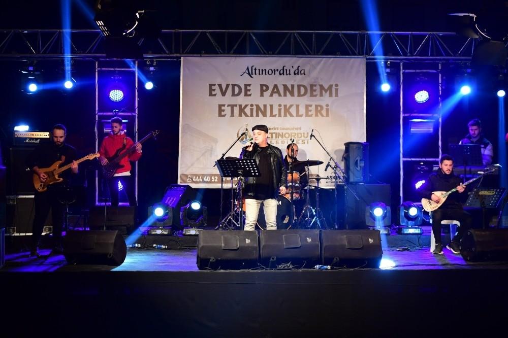 Altınordu'da pandemi konserleri devam ediyor