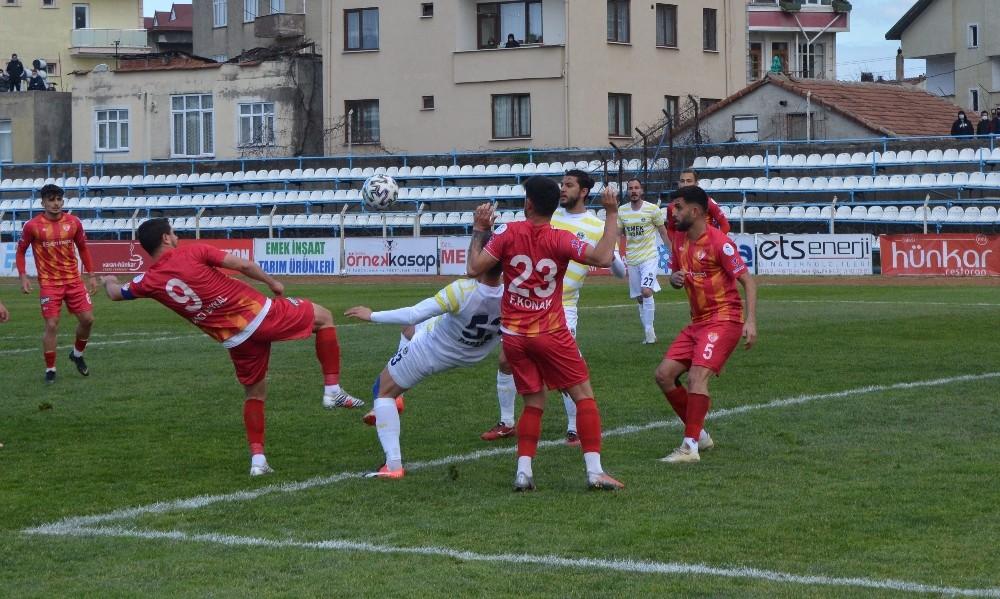 3. Lig: Fatsa Belediyespor: 1 – Edirne Belediyespor: 0