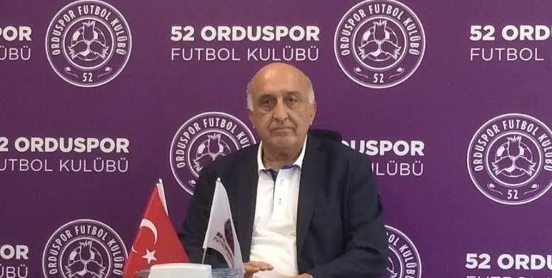 52 Orduspor Başkanı'na ceza