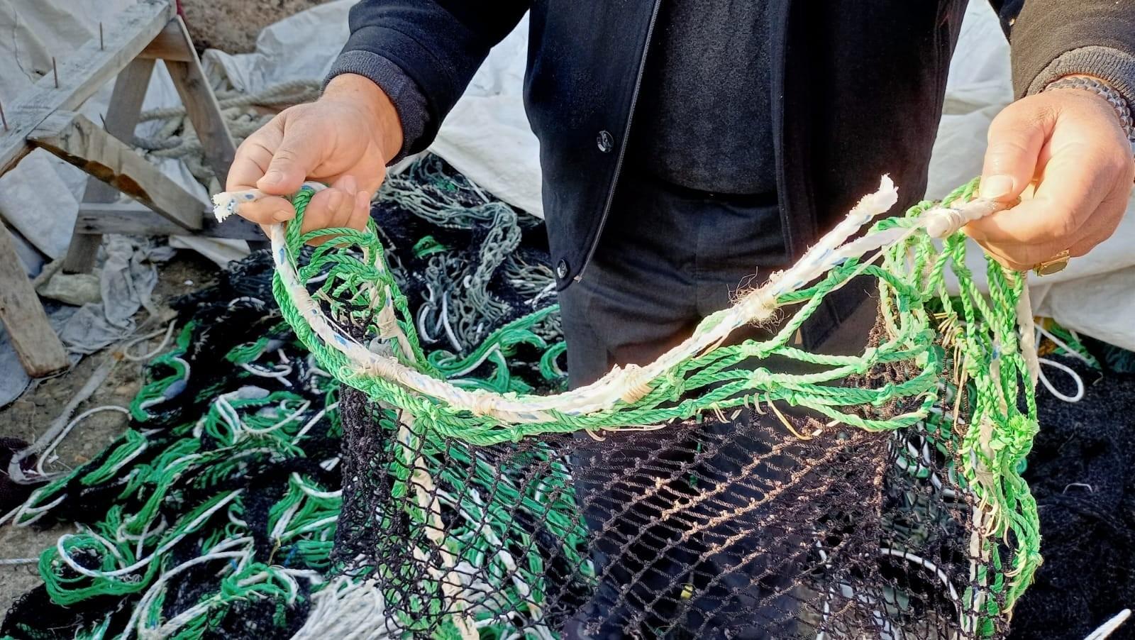 Balıkçıların ağda kullandıkları kurşunları çalındı