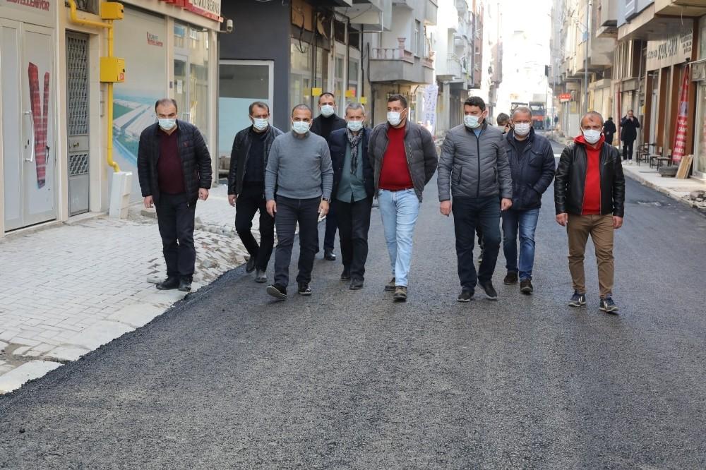 Fatsa'da konforlu asfalt yol seferberliği