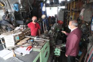 Fanatik Adana Demirsporlu Vali'ye Ordulu esnaftan forma isteği