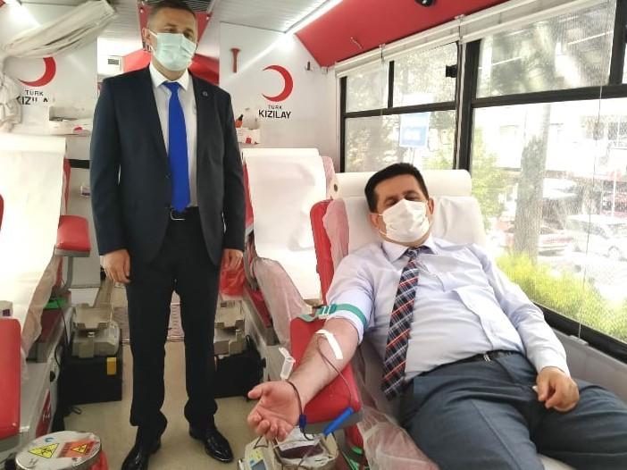 19 Mayıs'ı kan vererek kutladılar