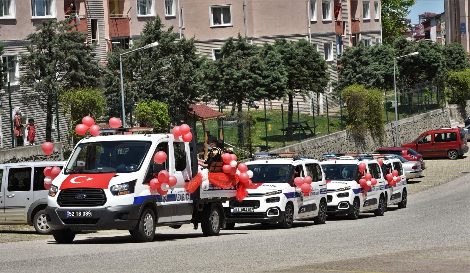 Altınordu'da 19 Mayıs coşkusu