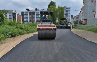 Altınordu'da asfalt seferberliği