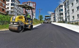 Altınordu'da bir ayda 13 sokak asfaltlandı