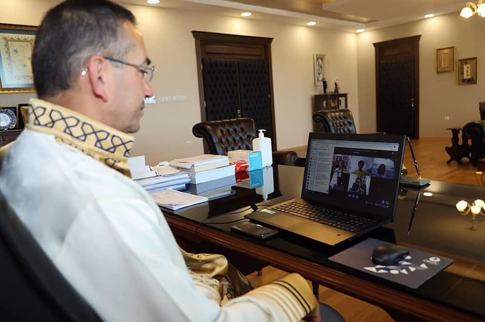 ODÜ'de online mezuniyet töreni