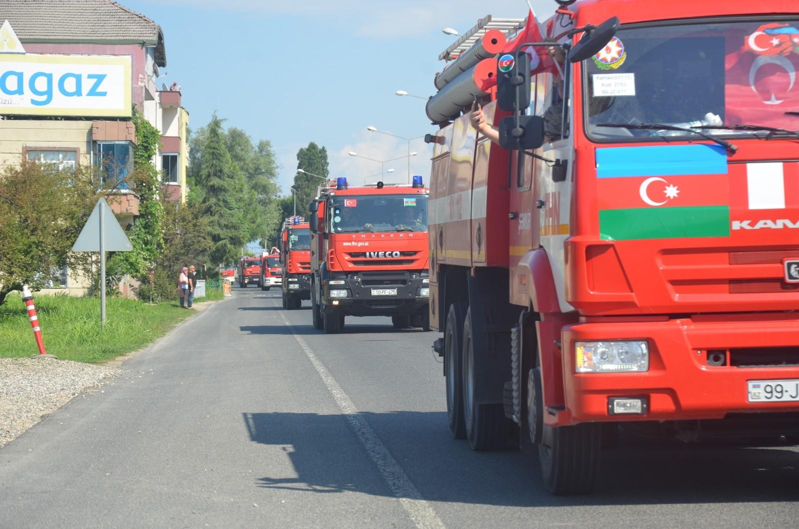 Kardeş Azerbaycan Türkiye'nin yanında