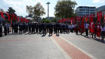 Atatürk'ün Ordu'ya gelişinin 97. yıldönümü kutlandı