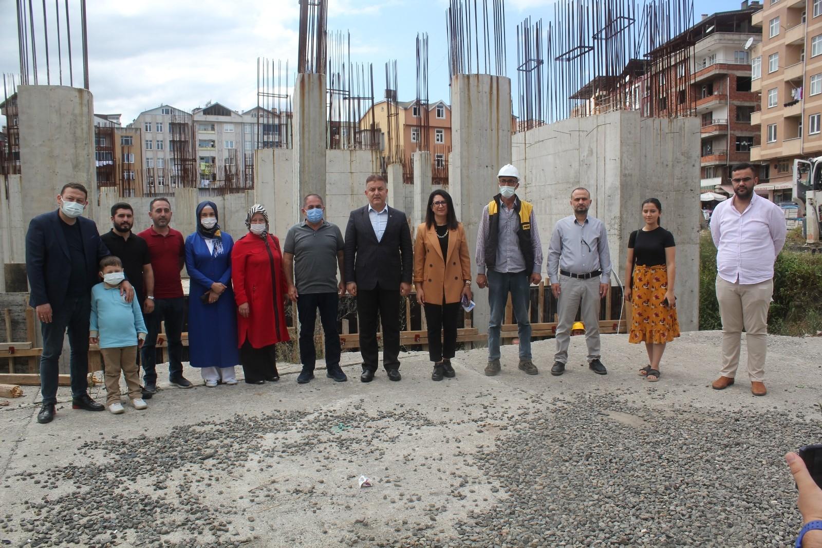 Ünye Kültür Merkezi 2022 yılında tamamlanıyor