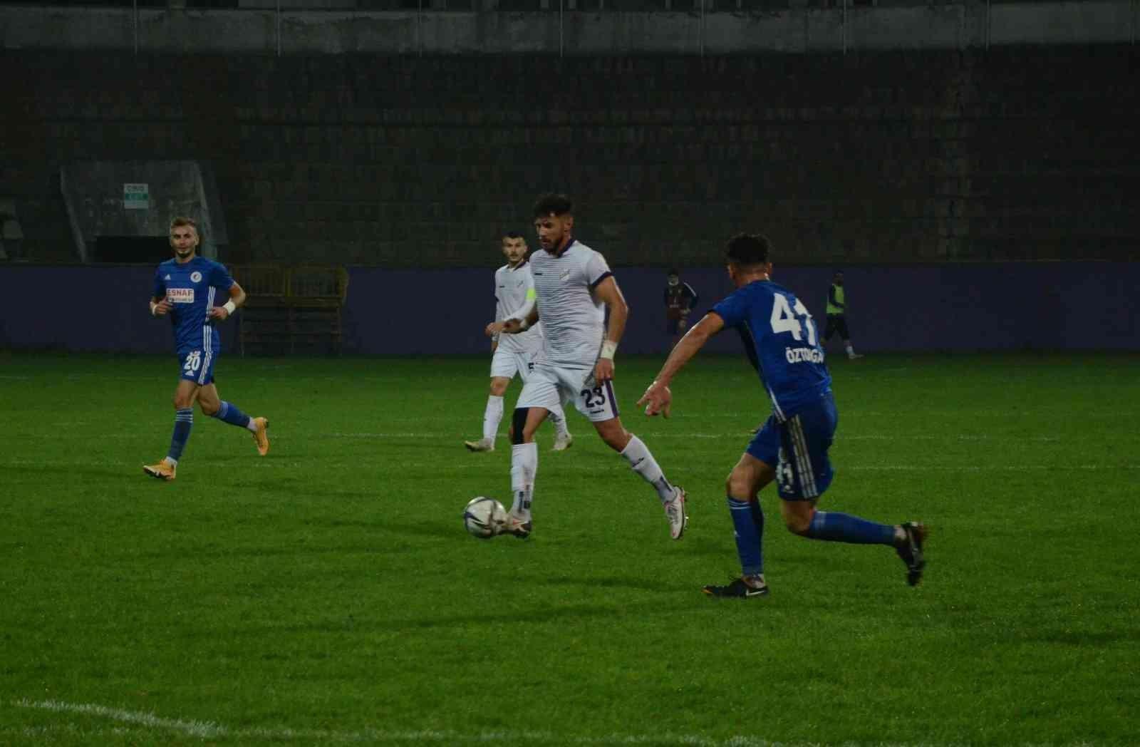 TFF 3. Lig: Orduspor 1967 Futbol İşletmeciliği SK: 1 – Fethiyespor: 1